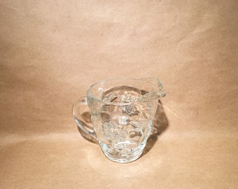 Crystal Creamer - Small Pitcher