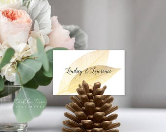Glamorous Evening - Place Cards (Style 13782)