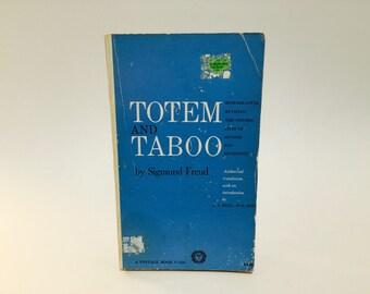 Vintage Book Totem and Taboo by Sigmund Freud 1946 Paperback