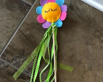 Fairy Wand | Princess Wand | Flower | Pink | Purple
