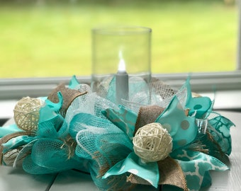 mini table wreath