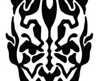 Sith Darth Maul Embroidery File