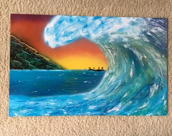 Waves up