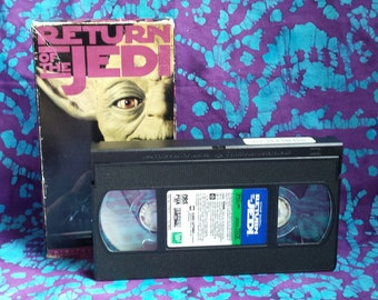 Video ~ Star Wars ~ Return of the Jedi ~ The Empire Falls ~ Jabba the Hutt ~ VHS ~ VCR ~ Tape ~ Movie ~ 1983 ~ Rated PG ~ My Nostalgic Life