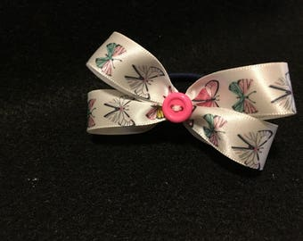 Butterfly Double Bow Hair Tie