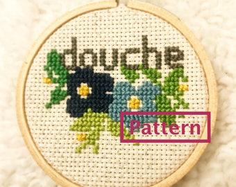 Douche - Cross Stitch Pattern