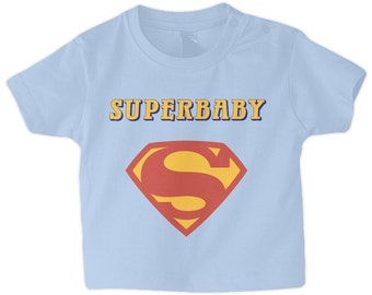 Superbaby Superhero Baby Boy's T-Shirt