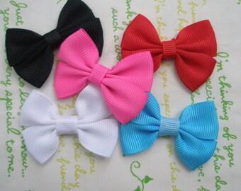 Plain Simple bow ribbon Set A 5pcs