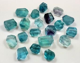 33 Gram Top Quality Fluorite Facet Beads-IM06