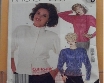 McCalls 2700 blouse pattern size 12-14-16 misses