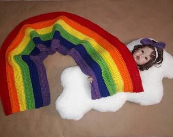 Rainbow Child Newborn Prop