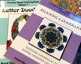 Creative Spark Coloring Books