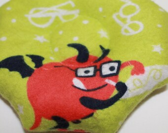 Little Cozy SMART ALIENS Booboo Bag Child Cold Pack Bonk Bag