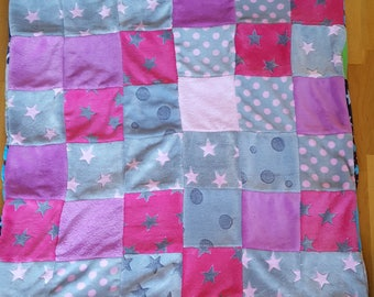 Patchworkdecke Travel Blanket Dog Blanket