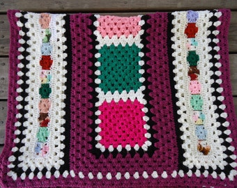 Hand Crocheted Lap Throw