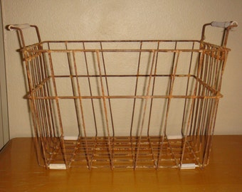 Old Rusty Wire Basket