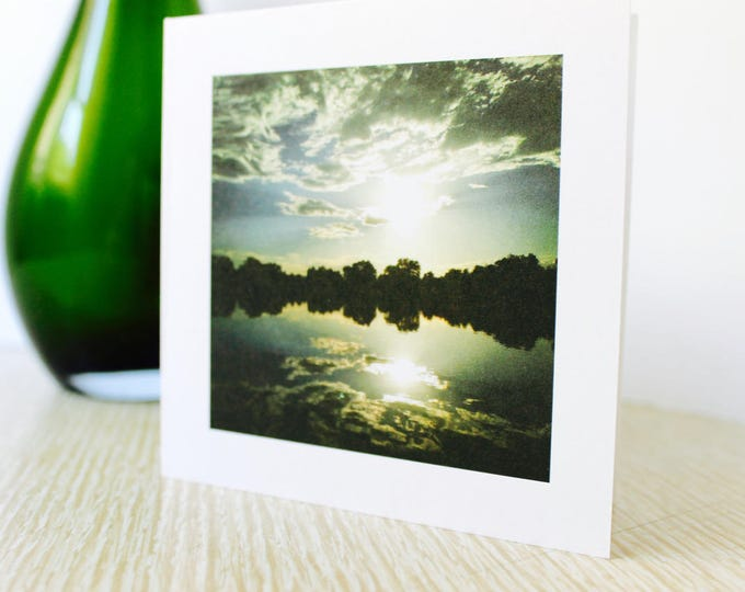 "Birthday/Any Occasion Greeting Card ""Summer Sunset"""