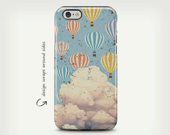 Hot Air Balloon, iPhone X Case, iPhone 6 Plus Case, iPhone 7 Plus, iPhone 8 Case, iPhone 7 Case, Samsung Galaxy Cases, Galaxy S8 Case