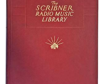 "Vintage Music Book: ""The Scribner Radio Music Library"" Edited by Albert E. Wier, Charles Scribner's Sons, Volume VIII, 1931"