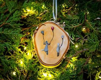 Pebble Art Ornaments