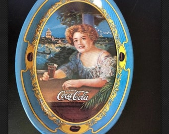 Rare Amazing Vintage 1973 Coca Cola- TIP TRAY - Made  In USA