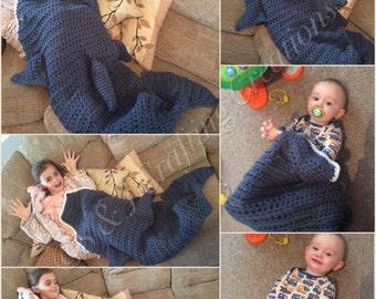 Eaten by a dolphin blanket