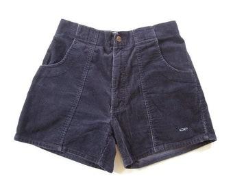 Vintage Navy Corduroy OP Beach Surfer Shorts