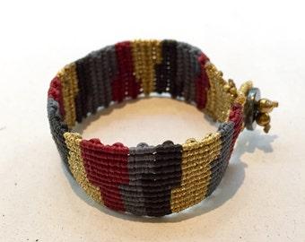 Macrame bracelet, macrame jewelry, friendship macrame bracelet, boho macrame, boho jewelry, boho bracelet