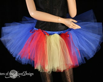 Snow white Adult tutu skirt style dance costume race run halloween royal yellow  - You Choose Size - Sisters of the Moon