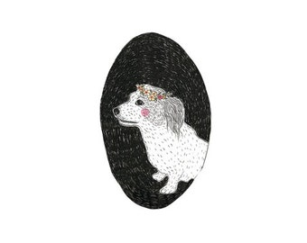 Custom Illustration (pet portrait)
