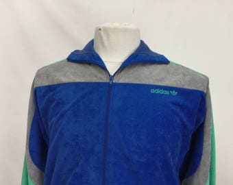 Adidas Velvet Track Jacket