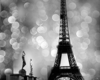 Eiffel Tower Black White Photography Paris And