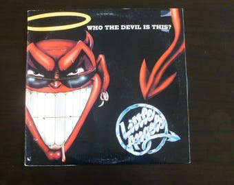 Little Angels Who The Devil Is This? Vinyl Record LP PRO 799-1 Promotional Copy Polydor Records 1989