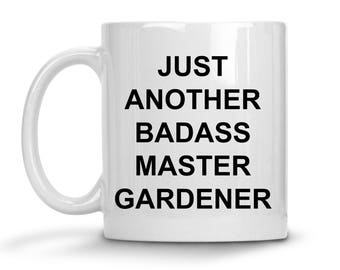 Master Gardener Mug - Gardening Gift - Trying To Be Awesome - Funny Novelty Coffee Cup