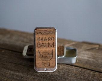 Bourbon Sandalwood Scented Beard Balm // Gifts for him