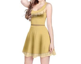 Pocahontas Inspired Sleeveless Dress