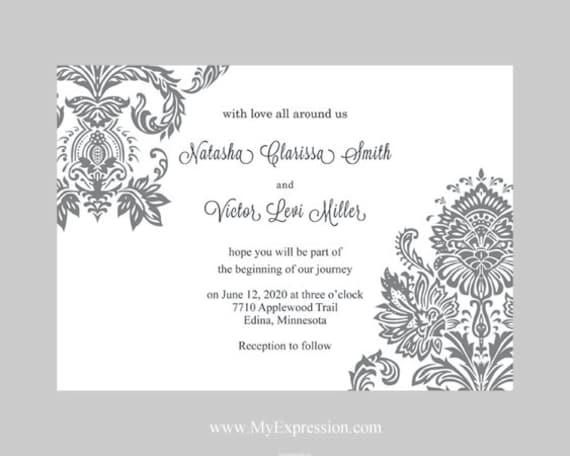 plantillas de de boda with plantillas para tarjetas de boda