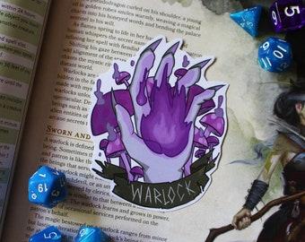 Warlock - D&D Class Sticker