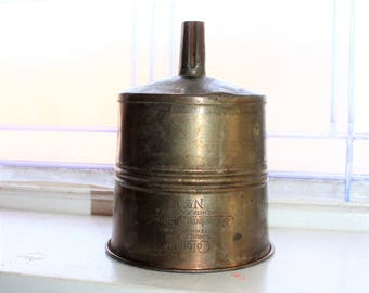 Vintage Coleman No. 1 Filtering Funnel