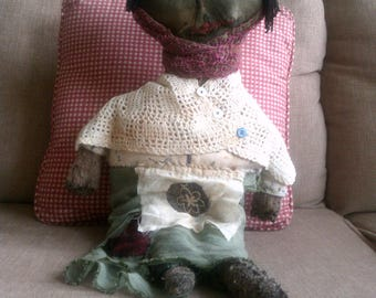 A Rusty Key Primitive Doll named.......Tootsie