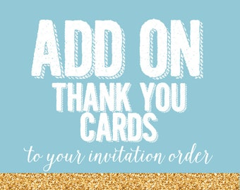 ADD ON ORDER - Coordinating Thank you cards | Stationery notecards for girls | Thank you notecard | First Birthday Stationery for girl