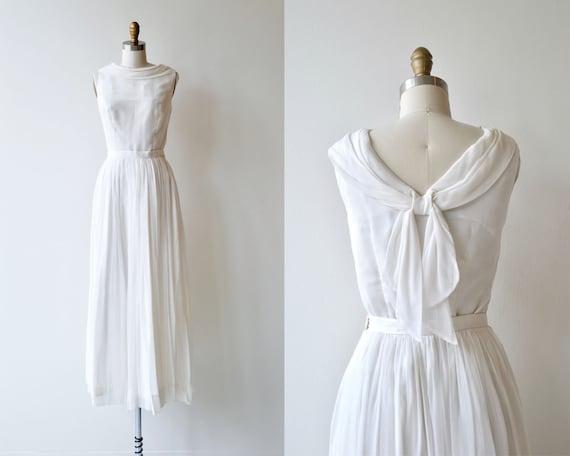 Sprezzatura wedding dress vintage 1950s wedding dress