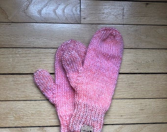 Mittens // Driving Gloves - PINK
