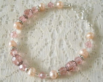 Freshwater Pearl Bracelet, victorian jewelry wedding jewelry art nouveau jewelry art deco renaissance edwardian neo victorian bracelet