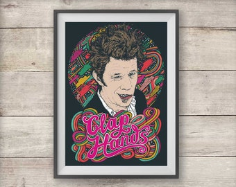 Tom Waits - Clap Hands - Poster - Print