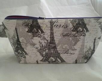 Paris wedge bag, Eiffel Tower bag, Crochet Paris bag, Wedge bag, Knitting bag