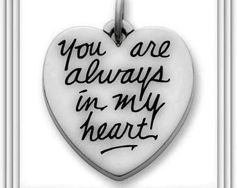 Always in My Heart Charm - SALE
