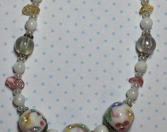 Summer Floral Retro Necklace