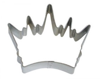 "3.5"" Crown Cookie Cutter birthday party treats decorations crafts King Queen princess baking supplies 0899"