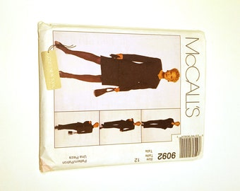 McCall's 9092, Misses Suit Pattern, Jones New York, 4 Piece Suit, Business Suit Pattern, Uncut Pattern, Size 12, Professional Pattern